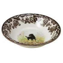 Spode Woodland Black Labrador Retriever Ascot Cereal Bowl, 8""