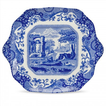 Spode Blue Italian English Bread And Butter Plate