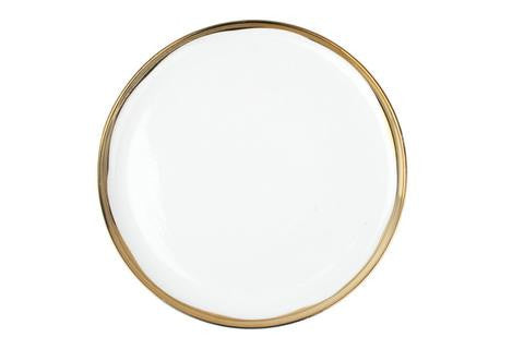 Dauville Dinner Plate In Gold