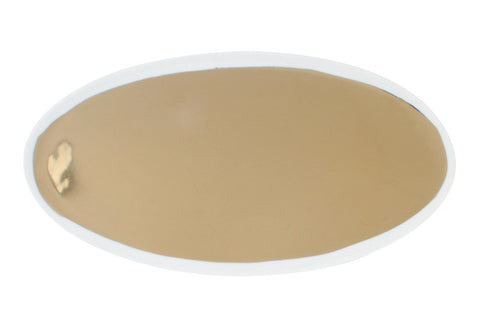 Dauville Oval Platters in Gold - Small