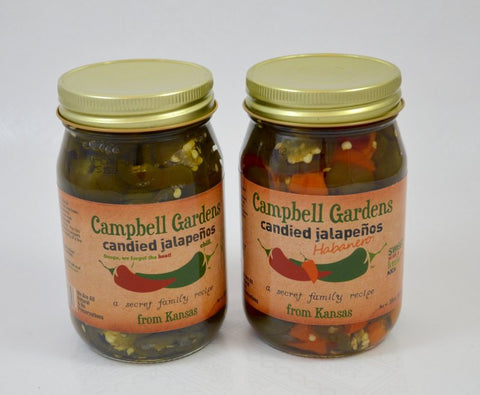Campbell Gardens Candied Jalapeños