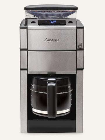 Capresso Coffee Team Pro Plus With Glass Carafe