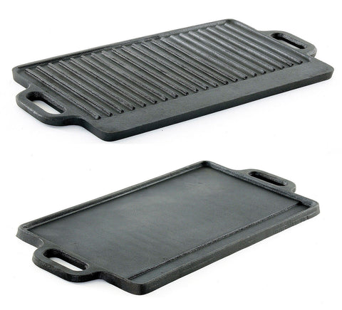 Lodge Cast Iron Griddle and Grill Pan