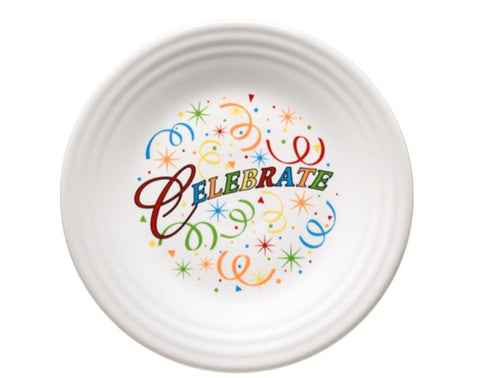 Fiesta Celebrate Luncheon Plate
