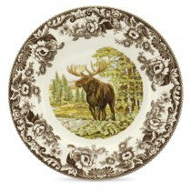 Spode Woodland Moose Dinner Plate, 10.5""