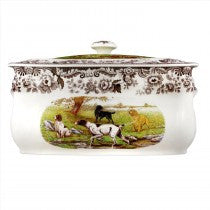 Spode Woodland All Dogs Bread Bin