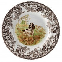 Spode Woodland English Springer Spaniel Dinner Plate, 10.5""
