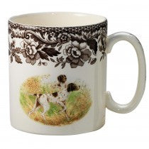 Spode Woodland Flat Coated Pointer Mug