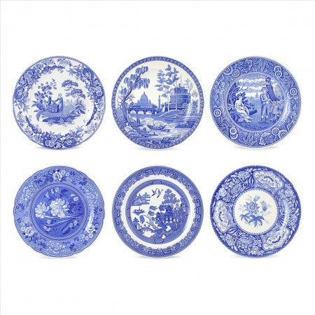 Spode Blue Room Plates