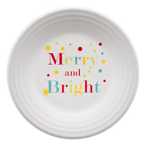 Fiesta Merry and Bright Luncheon Plate
