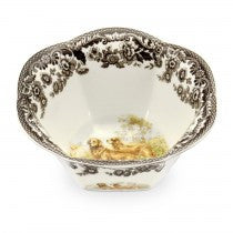 Spode Woodland Golden Retriever Nut Bowl, 6""