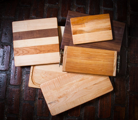 Handcrafted Wood Serving Board