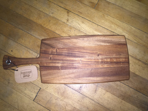 Wooden Cutting Board-Paddle