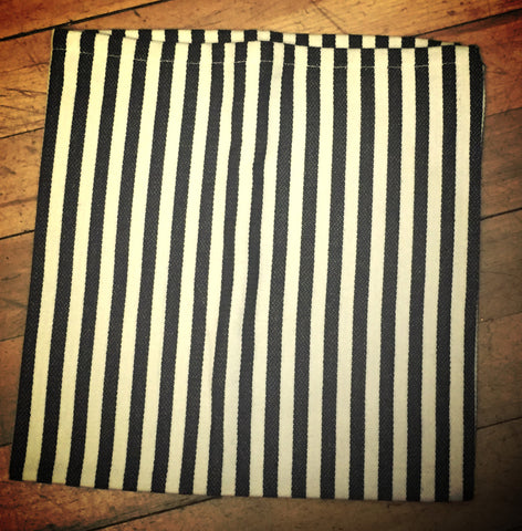 Black & White Stripped Napkin