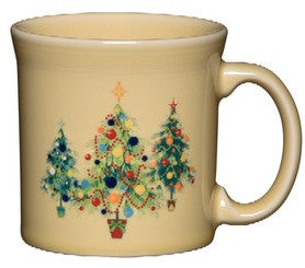 Fiesta Christmas Tree Trio of Trees Java Mug