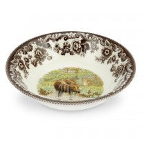 Spode Woodland Moose Ascot Cereal Bowl, 8""