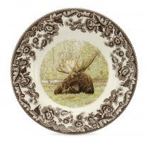 Spode Woodland Moose Bread and Butter Plate