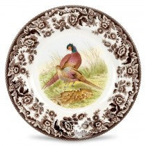 Spode Woodland Pheasant Salad Plate, 8""