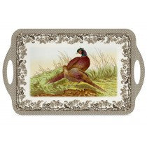 Spode Woodland by Pimpernel Pheasant Melamine Handled Tray