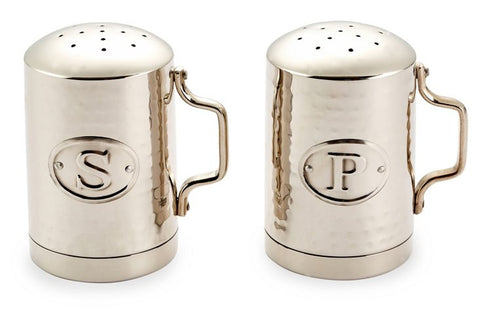 Hammered Steel Salt & Pepper Shaker