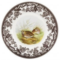 Spode Woodland Quail Luncheon Plate