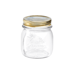 Bormioli Quattro Jar and Lids