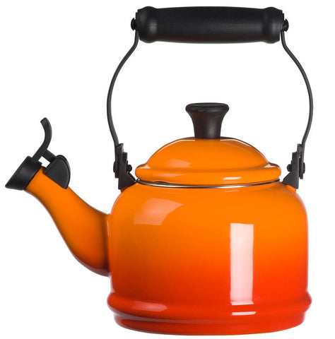 Le Creuset Enamel-on-Steel Demi 1-1/4-Quart Tea Kettle
