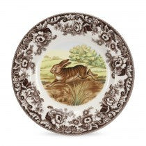 Spode Woodland Rabbit Dinner Plate, 10.5""