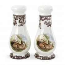 Spode Woodland Rabbit Salt and Pepper Shakers