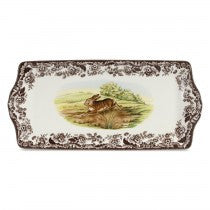 Spode Woodland Rabbit Sandwich Tray, 13""