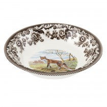 Spode Woodland Red Fox Ascot Cereal Bowl, 8""