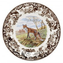 Spode Woodland Red Fox Dinner Plate, 10.5""