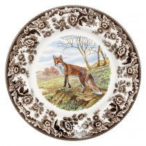 Spode Woodland Red Fox Salad Plate, 8""