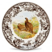 Spode Woodland Red Grouse Dinner Plate, 10.5""