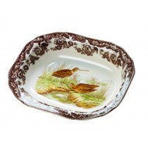 Spode Woodland Snipe Open Vegetable Dish, 9.5""