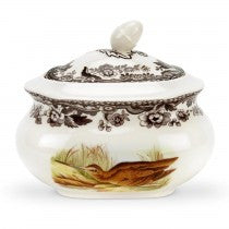 Spode Woodland Snipe/Pintail Covered Sugar Bowl