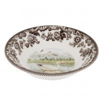 Spode Woodland Snow Goose Ascot Cereal Bowl, 8""