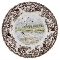 Spode Woodland Snow Goose Dinner Plate, 10.5""