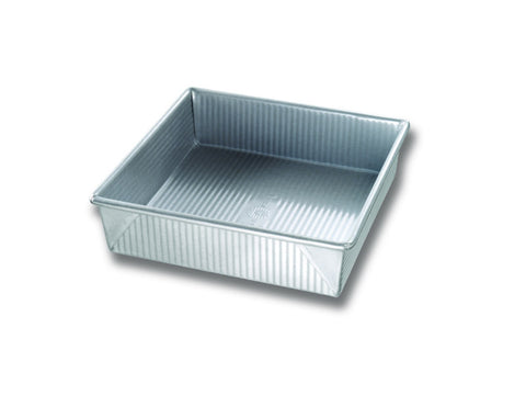 "USA Pan Square Cake Pans, 8"" And 9"""