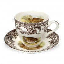 Spode Woodland Teacup and Saucer