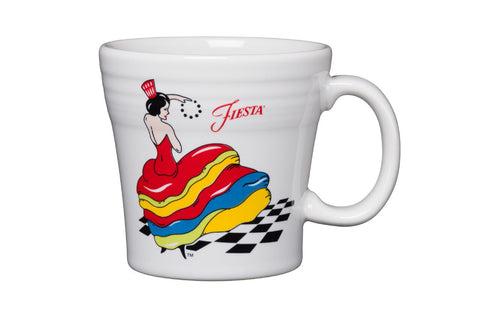 Fiesta Dancing Lady Tapered Mug
