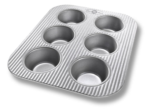 USA Pan 6-Cup Muffin Pan