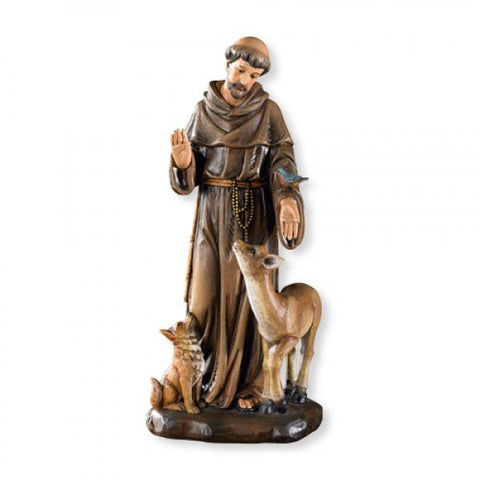 St. Francis Statue w/Animals
