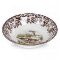 Spode Woodland Wood Duck Ascot Cereal Bowl, 8""