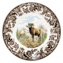 Spode Woodland Bighorn Sheep Salad Plate, 8""