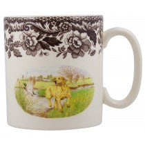 Spode Yellow Labrador Retriever Mug