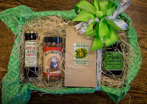 Gift Baskets, starting at $25
