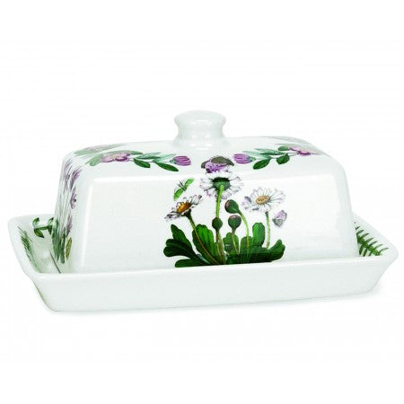 Portmeirion Botanic Garden Butter Dish With Cover