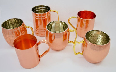 Copper Mule Mugs