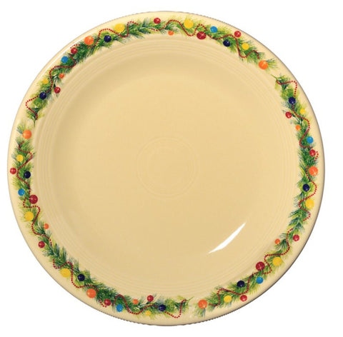 Fiesta Christmas Border Dinner Plate